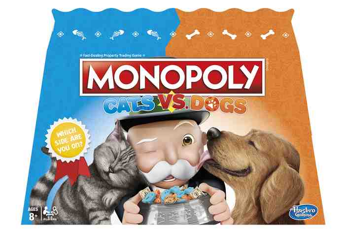 Monopoly Dogs versus Cats